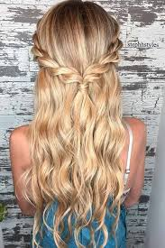 makeup simple hairstyles for long hair