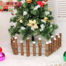 Hong Kong Christmas Decorations Wood White Solid Wood Round Wood Fence Shopee Philippines