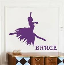 Ballet Girl Dancer Living Room Wall Stickers Music Classroom Fashion Wall Decals Girls Bedroom Living Room Home Decoration Wish