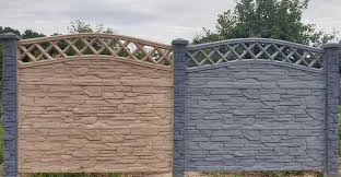 Pin By Eurofence Uk On House Gate Design In 2020 House Gate Design Concrete Fence Wall Concrete Fence