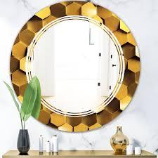 honeycomb wall texture triple c glam