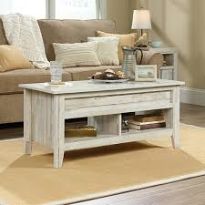 dakota pass lift top coffee table white