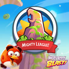 Mighty League is now on again!💪 It's... - Angry Birds Blast ...