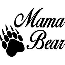 Amazon Com Mama Bear Vinyl Car Decal 8 X 6 Home Kitchen