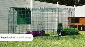 Rabbit Runs And Playpens Zippi Outdoor Enclosures Omlet Pet Products Youtube