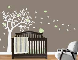 Nursery Wall Decals Blowing Summer Tree Wall Sticker For Boys And Girls Rooms Custom Made Tree Wall Stickers Home Decor Pixdora