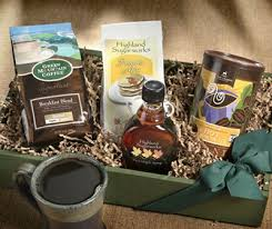 gourmet coffee gift baskets where to