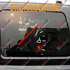 High Quality Speeding Safe Warning Funny Speedometer Cluster Vinyl Car Decal Bumper Sticker Choose Your Size Bumper Sticker Vinyl Car Decalvinyl Car Aliexpress