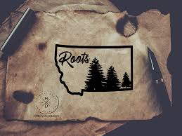 Montana Roots Vinyl Decal Taylor S Oldtown Farm