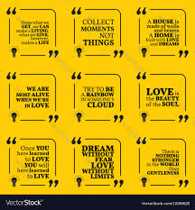 set of motivational quotes about home moments love