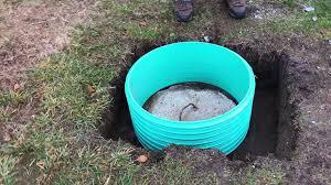 homemade septic tank 55 gallon drum