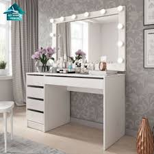white wood mirror almirah simple