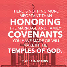 marriage and family covenants