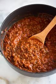 homemade spaghetti sauce tastes