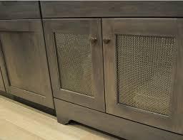 mesh cabinet door inserts