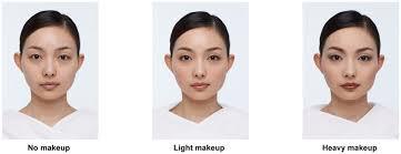 exles of images no makeup