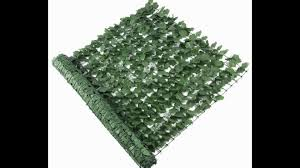 New Plastic Artificial Ivy Leaf Privacy Screen Fence Wall Artificial Grass Fence Screen For Decorative Garden Buy Artificial Grass Hedge Fence Screen Panels For Decorative Garden High Quality Artificial Foliage Fence For