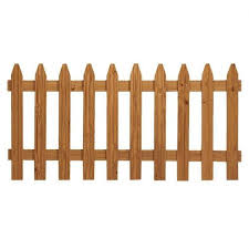 3 Ft X 6 Ft Pressure Treated Cedar Tone Moulded Wood Fence Panel U S Barricades Traffic Control Pedestrian Safety Products