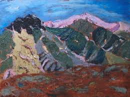 Fall Colors Canigou Painting by Vera Smith
