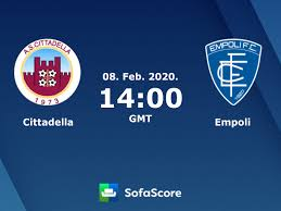Cittadella Empoli live score, video stream and H2H results - SofaScore
