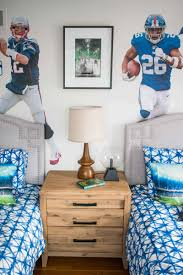 Sports Decor For A Boys Room At Charlotte S House