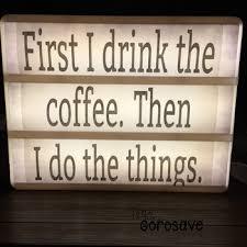 coffee quotes light box design dollar deals tpt