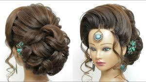 long hair trendy wedding updo tutorial