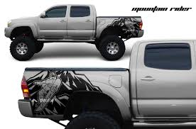 Toyota Tacoma 2005 2015 Custom Quarter Side Decal Truck Wrap