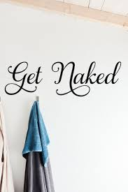 Get Naked Bathroom Wall Decal Run Wild Designs