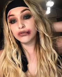 last minute halloween makeup looks
