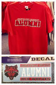Arkansas State University Alumni Tee Decal Arkansas State University Arkansas State Arkansas