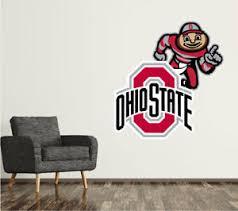 Ohio State Buckeyes Wall Decal Logo College Ncaa Art Decor Mural Vinyl Sr09 Ebay