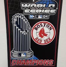 Genuine Merchandise Wall Art Mlb Boston Red Sox 2004 Wall Decal Poshmark