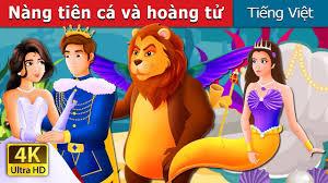 Nàng tiên cá và hoàng tử   Chuyen co tich   Truyện cổ tích việt nam -  YouTube