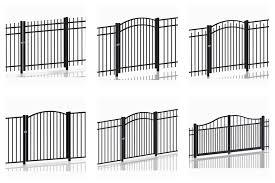1 8 2 4m Steel Galvanized Or Aluminum Satin Black Picket Garden Fence Panel For Sale Garrison Fence Manufacturer From China 109384614