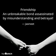 friendship an unbreakable quotes writings by jasmeet walia