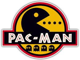 Sticker Jurassic Pac Man Muraldecal Com