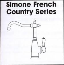 simone french one handle kitchen faucet