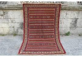 vintage soumak rug 4 2 x 6 4 feet