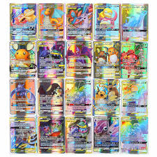 High quality 10/25/50/100/120/200pcs pokemon Game Collection ...