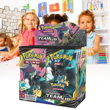 Pokémon POK81486 TCG: Sun & Moon 9 Team Up Booster Display ...