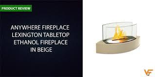 lexington tabletop ethanol fireplace