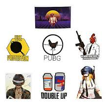Pubg Stickers No Duplicate Waterproof Vi Buy Online In Jamaica At Desertcart