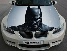 Vinyl Car Hood Wrap Full Color Graphics Decal Batman Arkham City Sticker 59 90 Picclick