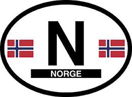 Norway Car Decal Norway Bumper Stickers Vinyl Sticker