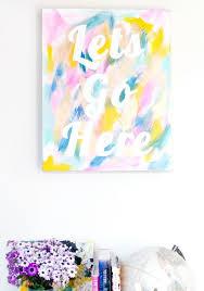 creative wall art ideas painting