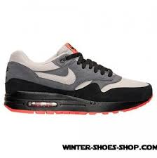 nike air max 1 leather running shoes