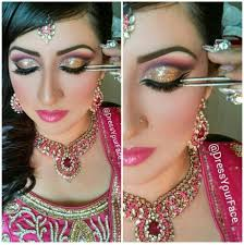 bollywood wedding makeup by dress your