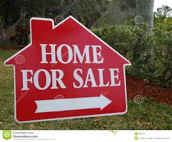 Home for Sale Sign stock image. Image of neighborhood, realty - 505721