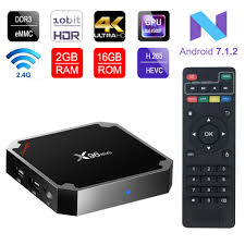 X96 Mini Android TV Box 2GB RAM 16GB ROM Amlogic Quad Core 64Bits H.265 4K  HD 2.4G WiFi – JH Computer